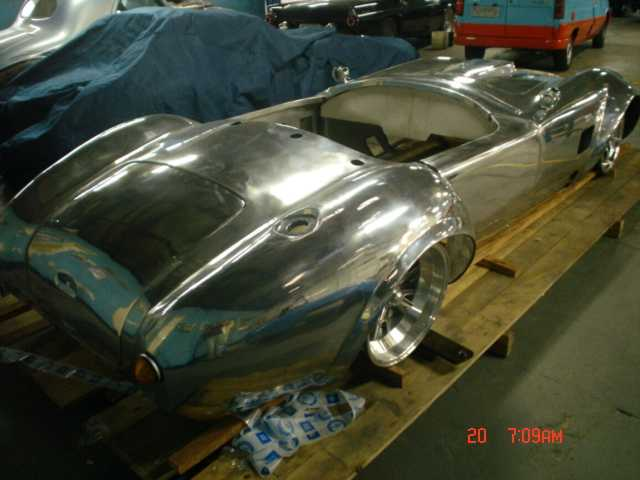 Alloycars Porsche 550 Spyder aluminum replica / Kit Cars